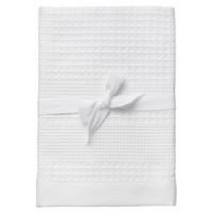 Полотенце вафельное Adore Medium, белое
