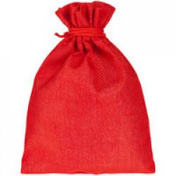 Холщовый мешок Foster Thank, M, красный