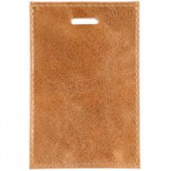 Чехол для карточки Apache, светло-коричневый (camel)