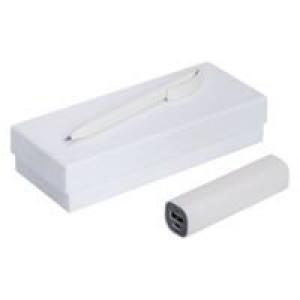 Набор Couple: аккумулятор и ручка, белый