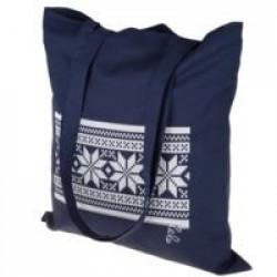 Холщовая сумка «Скандик», синяя