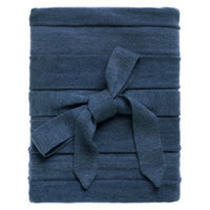 Плед Pleat, синий