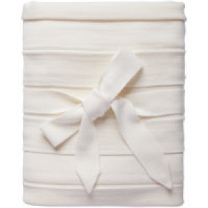 Плед Pleat, молочно-белый