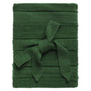 Плед Pleat, зеленый