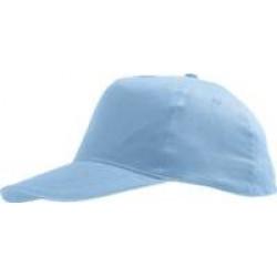 Бейсболка Sunny, голубая