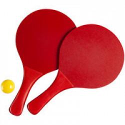 Набор для игры в пляжный теннис Cupsol, красный