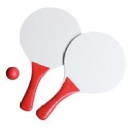 Набор для игры в пляжный теннис Cupsol, красный с белым