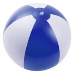 Надувной пляжный мяч Jumper, синий с белым