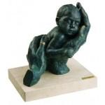 Скульптура «Моя первая ласка»
