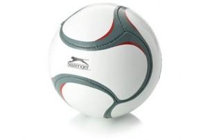 Мяч футбольный, размер 5, белый/серый