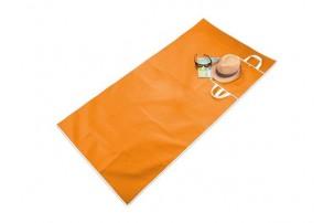 Коврик пляжный «Sand Dune», оранжевый/белый