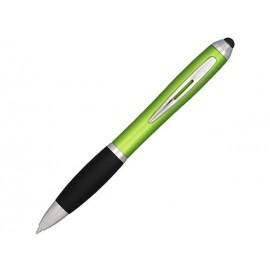 Шариковая ручка-стилус Nash, лайм, синие чернила
