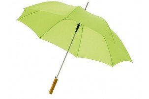 """Зонт-трость """"Lisa"""" полуавтомат 23"""", лайм"""