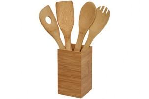 Кухонный набор Baylow 4 предмета, дерево