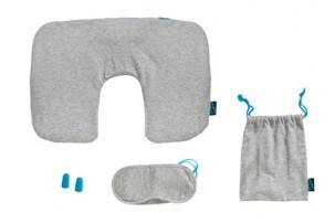"Набор для путешествия ""Miami""  (""Jersey""): подушка, повязка для глаз, беруши"
