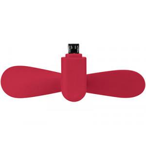 Вентилятор Airing микро ЮСБ, красный