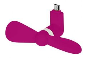 Вентилятор Airing микро ЮСБ, розовый