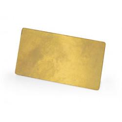Значок металлический «Прямоугольник»