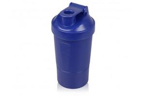 Шейкер для спортивного питания «Level Up», синий