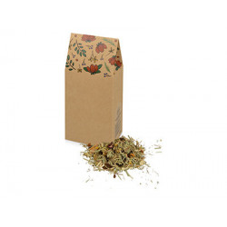 «In Bloom» чай на основе трав и плодов с лемонграссом и мятой, 60 г.