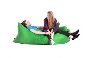 Надувной диван «Биван», зеленый