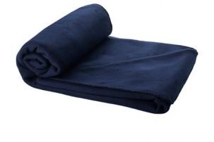 Плед Huggy в чехле, темно-синий