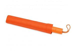 """Зонт складной """"Tulsa"""", полуавтоматический, 2 сложения, с чехлом, оранжевый"""