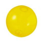 Мяч пляжный «Ibiza», желтый прозрачный