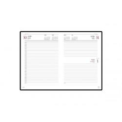 Ежедневник А5 датированный «Leader» на 2021 год