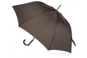 """Зонт-трость """"Wind"""", полуавтомат, коричневый"""