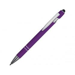 Ручка-стилус металлическая шариковая «Sway» soft-touch