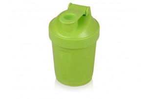 Шейкер для спортивного питания «Level Up», зеленое яблоко