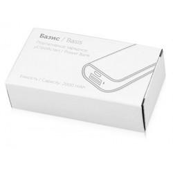 Портативное зарядное устройство «Basis», 2000 mAh