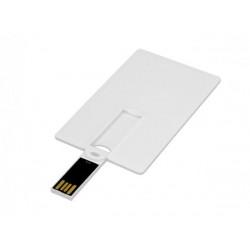 USB 2.0- флешка на 16 Гб в виде пластиковой карты с откидным механизмом
