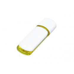 USB 2.0- флешка на 16 Гб с цветными вставками