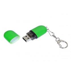 USB 2.0- флешка промо на 16 Гб каплевидной формы