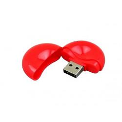 USB 2.0- флешка промо на 16 Гб круглой формы