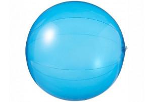 Мяч пляжный «Ibiza», синий прозрачный