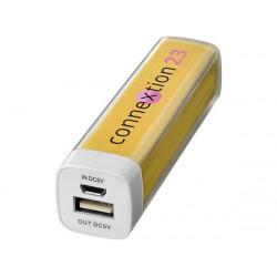 Портативное зарядное устройство «Flash», 2200 mAh