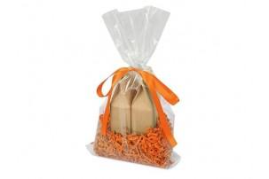 Подарочный набор «Tea Duo» с двумя видами чая, оранжевый