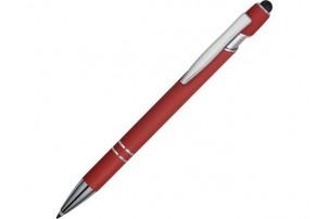 Подарочный набор Silver Sway с ручкой и блокнотом А5, красный