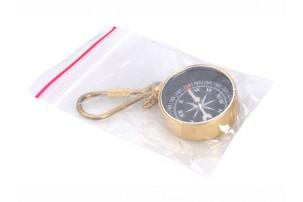 Брелок-компас, золотистый