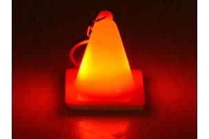 Брелок с подсветкой, оранжевый