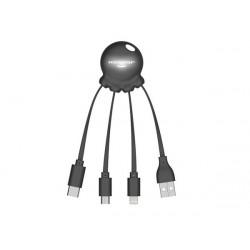 Зарядный кабель «Octopus Light» с подсветкой логотипа