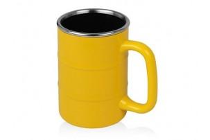 Кружка «Баррель» 400мл, желтый