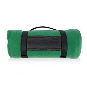 Плед «Нежность», зеленый