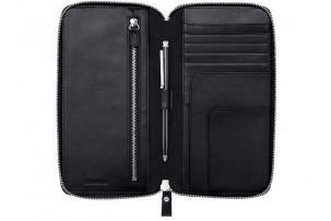 Набор: трэвел-портмоне, ручка шариковая. Swarovski