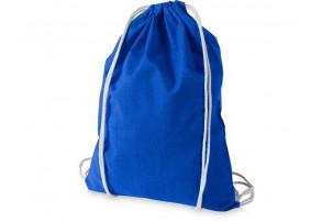 Рюкзак хлопковый «Oregon», ярко-синий