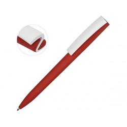 Ручка пластиковая soft-touch шариковая «Zorro»