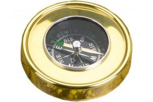 Набор: трэвел-портмоне, подзорная труба, компас «Адмирал»
